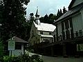 Zespół zabytków Iwonicza, układ przestrzenny uzdrowiska 1 poł. XIX - Kościół par. p.w. św. Iwona, drewn., 1894 (BUCHMANN).JPG