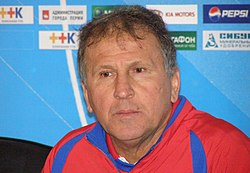 Zico as a head coach of PFC CSKA Moscow