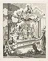 Zinneprent op de huwelijken van de zoon en dochter van Willem V, 1790-1791, RP-P-OB-86.171.jpg