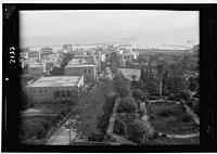 Zionist activities around Haifa. Haifa and the Harbour from the Technical School LOC matpc.15203.jpg