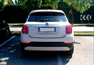 Fiat 500X - Fiat 500X, rear