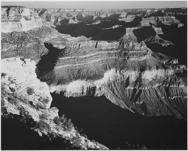 File grand canyon national park arizona 1933 1942 for Ansel adams the mural project prints