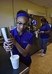 """""""It Is In The Cup"""" brewing at Keesler 170608-F-BD983-035.jpg"""