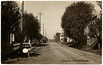 Manchester, Missouri - Manchester in 1911.