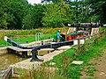 """Zachariah Keppel"" in Brewhurst Lock, Wey and Arun Canal - geograph.org.uk - 1436634.jpg"
