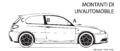 """ 15 - Italian language - Automobile body pillars - rear central and front struts - Alfa Romeo automobile line black and white drawings diagram - 147 GTA facing left (all black).png"