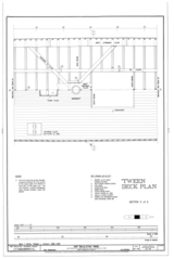 'Tween Deck Plan, Section 3 of 5 - Ship BALCLUTHA, 2905 Hyde Street Pier, San Francisco, San Francisco County, CA HAER CAL,38-SANFRA,200- (sheet 25 of 69).png