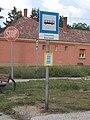 'Városi Temető' bus stop, 2018 Oroszlány.jpg