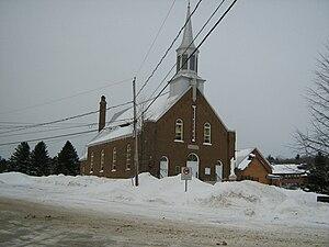 Notre-Dame-du-Mont-Carmel, Quebec - Image: Église Notre Dame du Mont Carmel