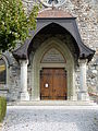 Église sainte Marie-Madeleine Poliez-Pittet - porte entrée.jpg