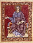 Évangéliaire de Poussay - Christ - BNF Lat10514 f4.jpg