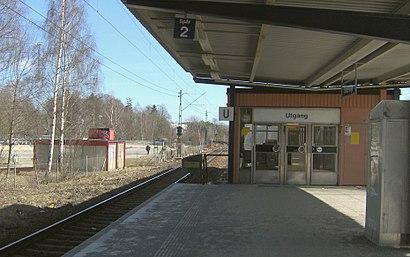 Vägbeskrivningar till Östertälje Station med kollektivtrafik
