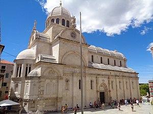 Šibenik, Katedrala sv. Jakova - sjeveroistok