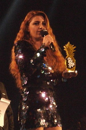 MAD Video Music Awards - Elena Paparizou receiving her 24th award. She has also more nominations than any other artist.