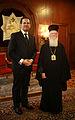 Συνάντηση ΑΝΥΠΕΞ Δ.Δρούτσα με την Α.Θ.Π. τον Οικουμενικό Πατριάρχη κ.κ. Βαρθολομαίο (4948440753).jpg