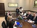 Συνάντηση ΥΠΕΞ Ν. Κοτζιά με τον ΥΠΕΞ Κοσόβου B. Pacolli στην Πρίστινα (12.04.2018) (27539441928).jpg