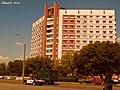 Апошні будынак Гомеля па дарозе ў Магілёў ... The last building in Gomel on the road in Mogilev - panoramio.jpg