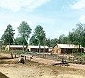 Бараки поселенцев. (Фото 1916 года^^^).Фотограф-Прокудин-Горский. - panoramio.jpg