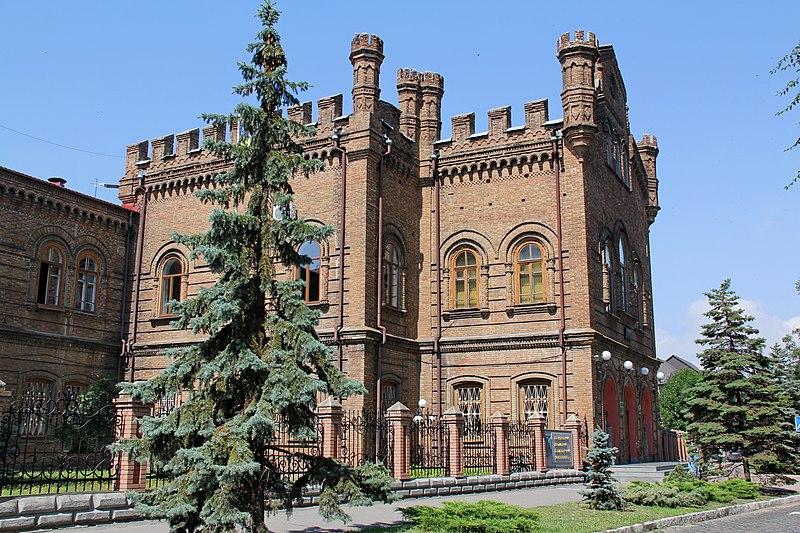 Бердянський педагогічний університет, колись — чоловіча класична гімназія (автор фото ПРО100, вільна ліцензія cc by-sa 4.0)