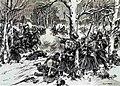 Бой под Красным 3-го ноября 1812 года (графика Н.С. Самокиша).jpg