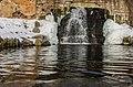 Водопад під Руїнами, дендропарк Олександрія, Біла Церква.jpg
