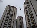 Град Скопје, Р.Македонија нас. Карпош IV опш. Карпош 4 ( Трите Кули) - panoramio.jpg