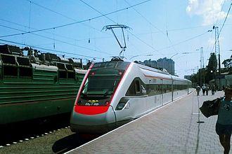 Ukrainian Railways - Train of Kriukiv Railcar Engineering