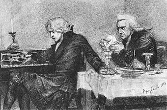 Моцарт и Сальери Википедия Толкования пьесы править править код