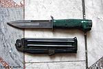 Нож разведчика стреляющий НРС-2 - 27-й отдельной гвардейской Краснознаменной Севастопольской мотострелковой бригады 03.jpg