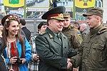 Президент України Петро Порошенко привітав молодих офіцерів з випуском 3455 (16944116021).jpg