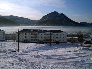 Dalnegorsk Town in Primorsky Krai, Russia