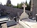 Свјетлопис дијела гробља код сербског прав. храма Рођ. Пресв. Богородице, Забрђе, Луштица2.jpg