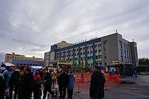 Центральная площадь г. Снежногорска, носящая имя В.В. Мурко.JPG