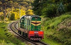 ЧМЭ3-2908, Украина, Днепропетровская область, перегон Встречный - Днепропетровск-Южный (Trainpix 138895).jpg