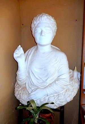 Silva Kaputikyan - A bust of Kaputikyan