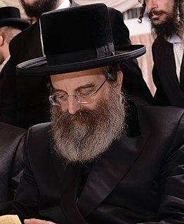 Yisroel Moshe Friedman American-Israeli religious leader