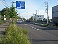 北海道道100号函館上磯線・鍛神橋(終点側から見る).jpg