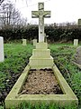 -2017-01-16 The Grave of Lieutenant, Count Gabriel Antoine Armand De Gramont, Fakenham, Norfolk.jpg