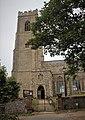 -2018-07-12 Porch and main door, south facing elevation, Saint Mary's, Happisburgh, Norfolk.jpg