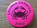 -2019-08-26 Cromer carnival 2003 badge.JPG