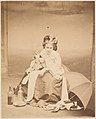 -Album page with ten photographs of La Comtesse mounted recto and verso- MET DP235109.jpg