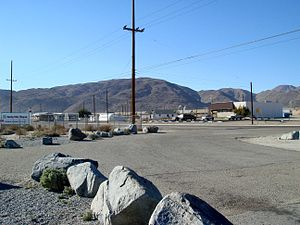 Searles Valley, California - Image: 01 2007 Trona 02