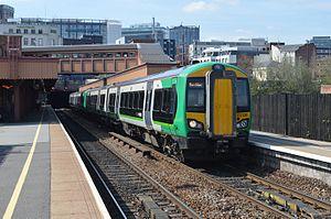 British Rail Class 172 - Image: 02.05.13 Birmingham Moor Street 172.220 (8717334213)