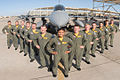 070522-F-6859X-002 Captain Monessa Catuncan, the first Filipina USAF female F-16 pilot, posing in front of F-16 with other graduation of 07-ABC class.jpg