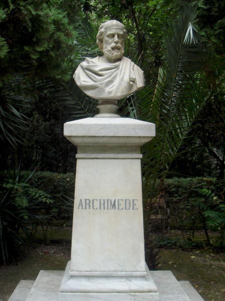 File:0853 - Luciano Campisi (1859-1933), Busto ad Archimede (1885) - Siracusa - Latomie cappuccini - Foto Giovanni Dall'Orto - 17-Oct-2008.jpg