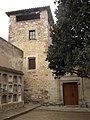 090 Sant Esteve de la Doma, comunidor i portal.jpg