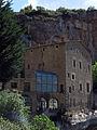 099 Sant Miquel del Fai, casa del priorat, angle sud-oest.JPG