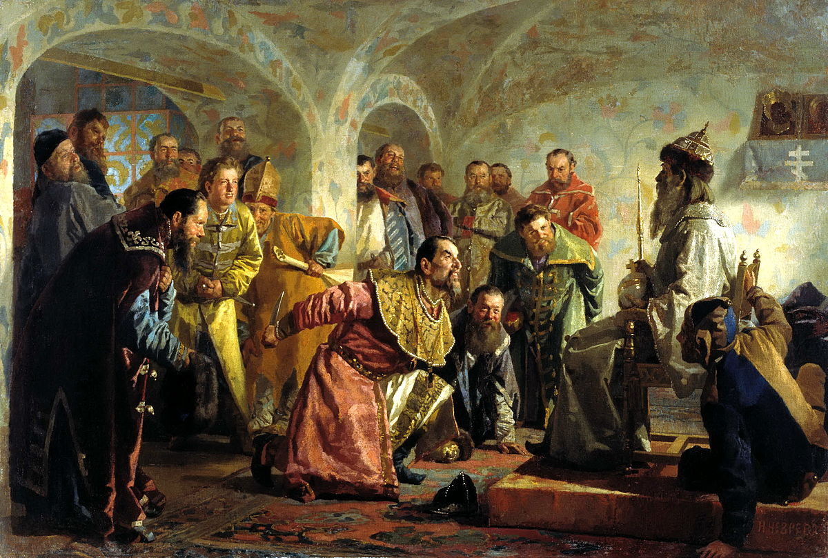 Oprichnina Ivan the Terrible. Briefly about the prerequisites and consequences 4