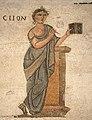 0 Mosaïque représentant 'Clio' - Pal. Massimo à Rome .JPG