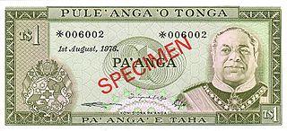 currency of Tonga